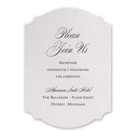 Sparkling Beauty - Reception Card