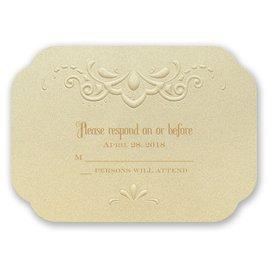 Opulent Lace - Response Card