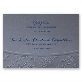 Floral Gateway - Reception Card