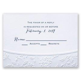Wedding Response Cards: Floral Gateway Response Card