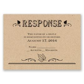 Big Celebration - Response Card
