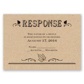 Big Celebration - Response Card