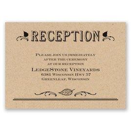 Big Celebration - Reception Card