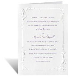 White Heirloom - Invitation