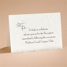 Joined By Faith - Reception Card