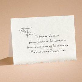Joined By Faith - Reception Card