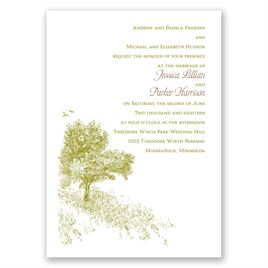Hillside Getaway - Invitation