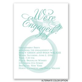 "Rockin"" Party - Mini Engagement Party Invitation"