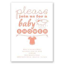 Baby Shower Invitations: Please Join Us Baby Shower Invitation