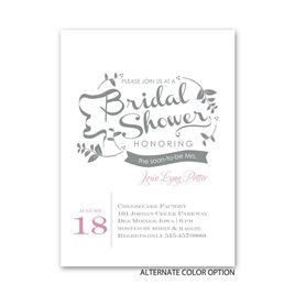 Natural Touch - Petite Bridal Shower Invitation