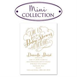 baby shower invitations join us mini baby shower invitation