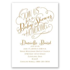 Join Us - Mini Baby Shower Invitation