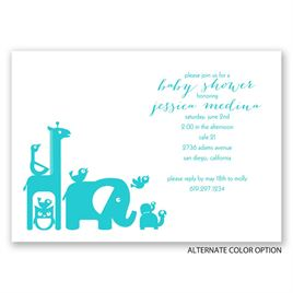 The Crew - Baby Shower Invitation