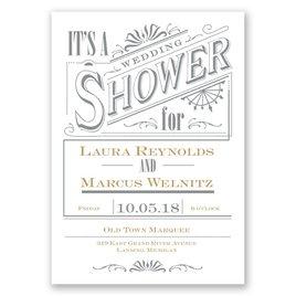 bridal shower invitations vintage charm wedding shower invitation