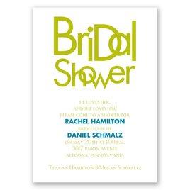 Modern Style - Bridal Shower Invitation