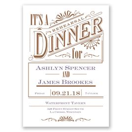 rehearsal dinner invitations invitations by dawn