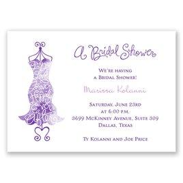 Fancy Free - Mini Bridal Shower Invitation