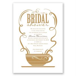 Coffee Talk - Bridal Shower Invitation