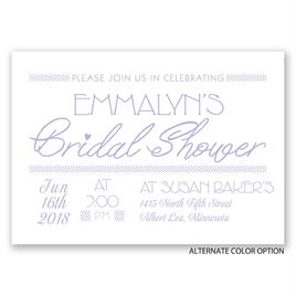 A Celebration - Bridal Shower Invitation