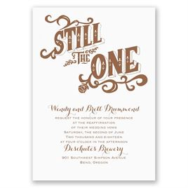 Still the One - Vow Renewal Invitation