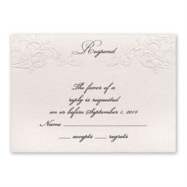 Elegance and Grace - Response Card