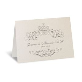 Elegant Arrangement - Thank You Card