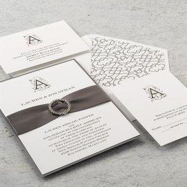Sheer Sophistication - Invitation