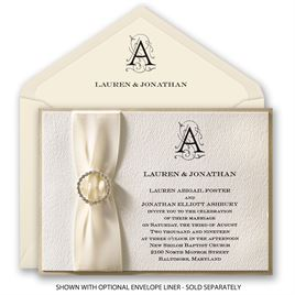 Luxe Details - Horizontal - Invitation