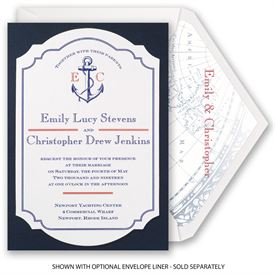 Seafaring Love - Invitation