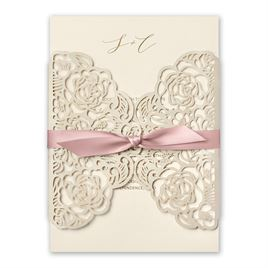 Bed of Roses - Ballet - Laser Cut Invitation