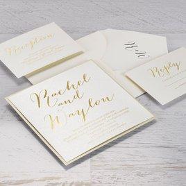 Signature Style - Foil Invitation
