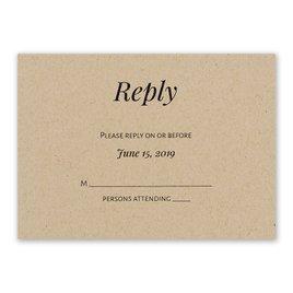 Naturally Chic - Response Card