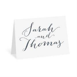 Letter Love - White - Thank You Card