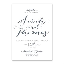 Modern Wedding Invitation Invitations By Dawn