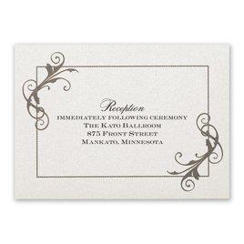 Flourishing Beauty - Reception Card