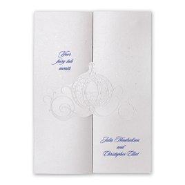 Disney Fairy Tale Weddings Wedding Invitations: Disney Royal Carriage Invitation Cinderella