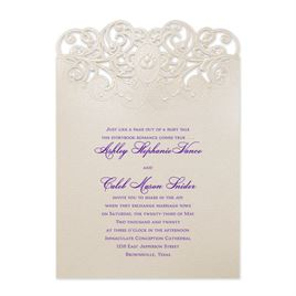 Disney Wedding Invitations: Disney Beautiful Bayou Invitation Tiana
