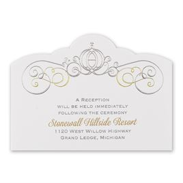 Disney - Enchanted Reception Card - Cinderella