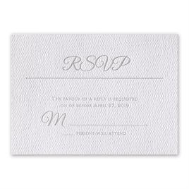 Layers of Luxury - Silver - Foil Response Card