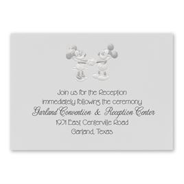 Disney - Mickey and Minnie Reception Card - Mickey Mouse