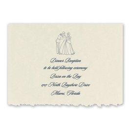 Disney - First Dance Reception Card - Cinderella