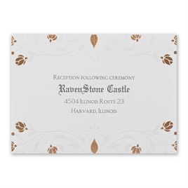 Disney - Roses and Romance Reception Card - Sleeping Beauty