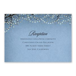 Fairytale Sky - Foil Reception Card