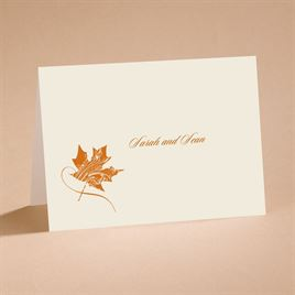 Fashionable Fall - Note Card and Envelope