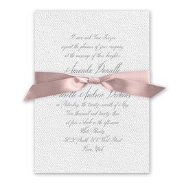 Wedded Bliss - Ballet - White Invitation