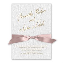 Fresh Angle - Ballet - White Invitation