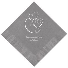 Yellow Wedding Napkins: 