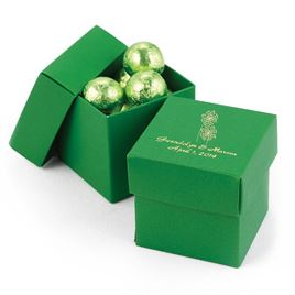 Grass Two-Piece Favor Box