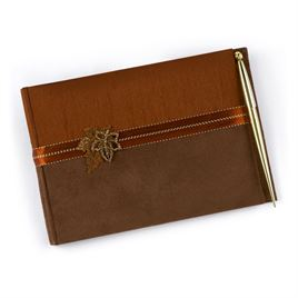 Fall Charm Guest Book and Pen