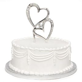 Sparkling Love Cake Pick